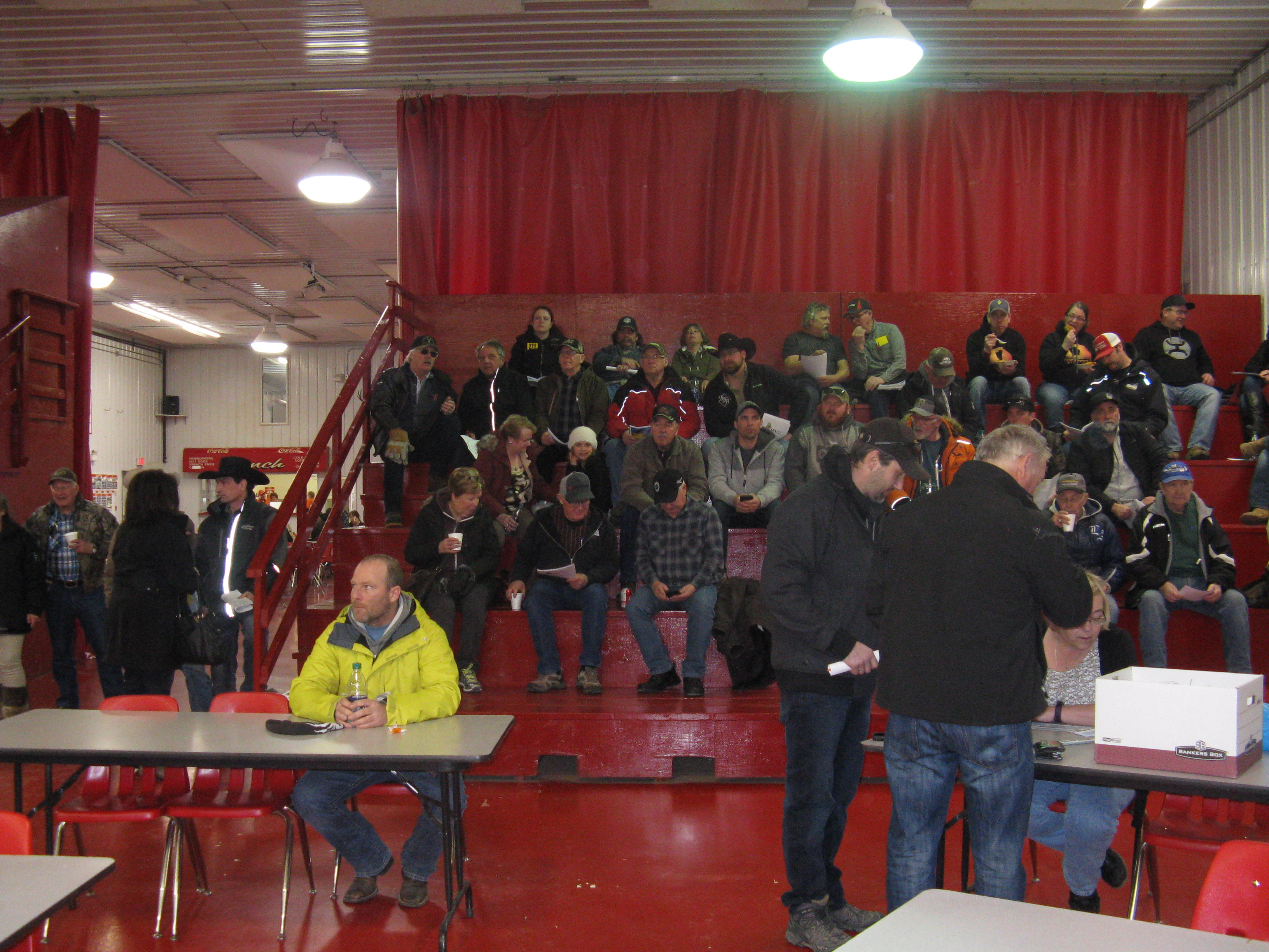 Show & Sale Crowd - Thank you to Everyone!